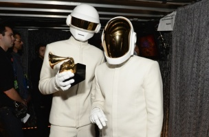 Daft Punk and their album Random Access Memories won them 5 Grammy Awards.